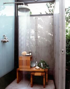 オーバーヘッドシャワー, シャワー, レインダンス, 庭